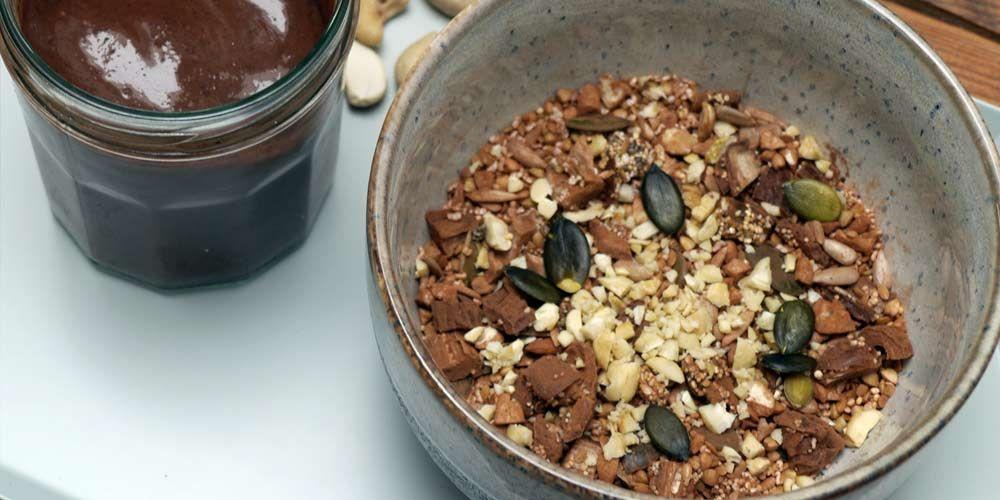 Seedheart Cashew und Cacao Superfood rezepte, Superfood
