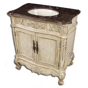 Ashbury Single 33 Inch Traditional Bathroom Vanity Bathroom Vanity Vintage Tub Traditional Bathroom Vanity