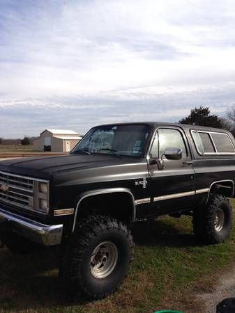 86 K5 Blazer Repinning Bc It S Spitting Image Of The 85 I Had I