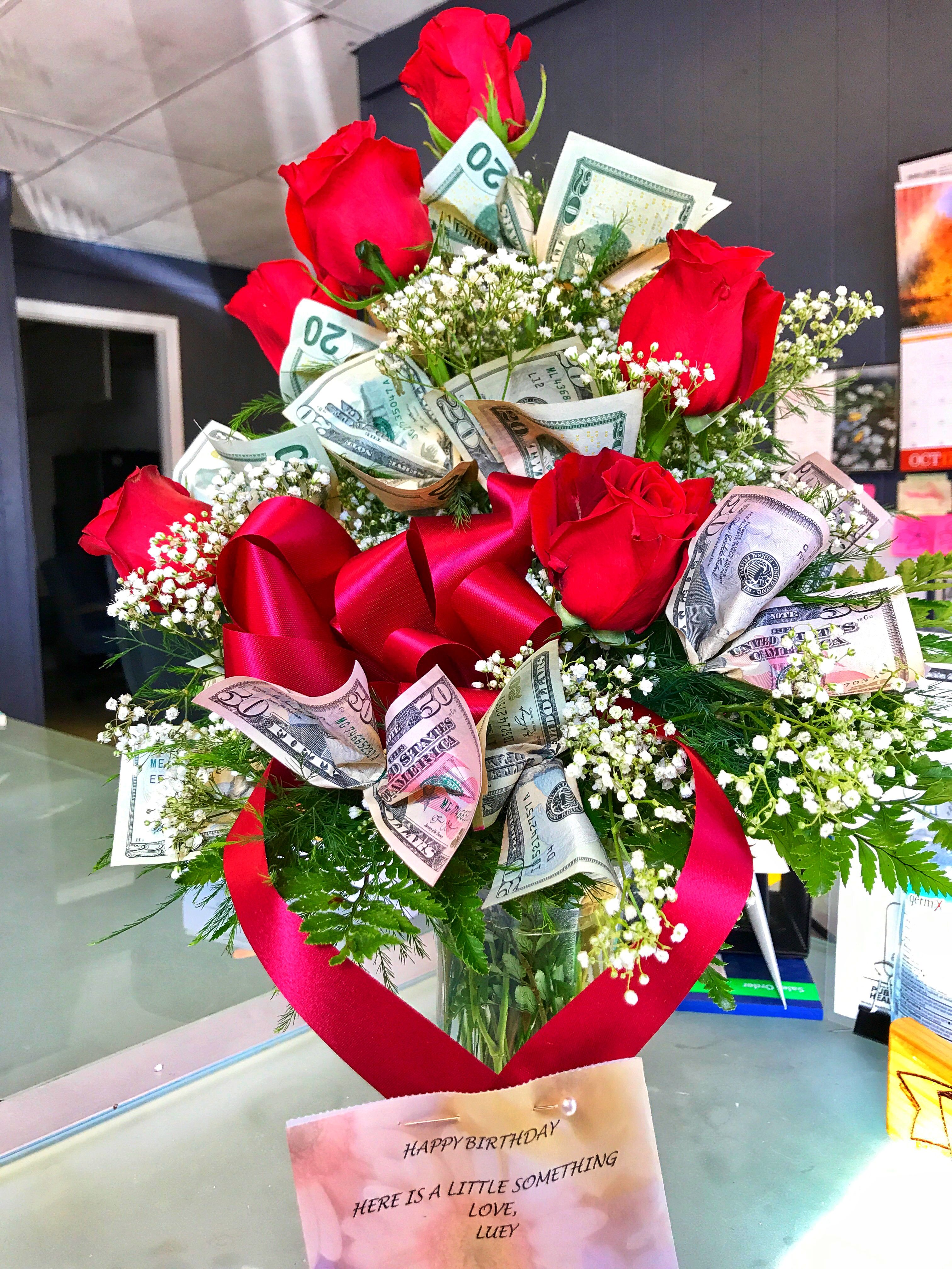 Beautiful Money Flowers Bouquet Component - Wedding and flowers ...