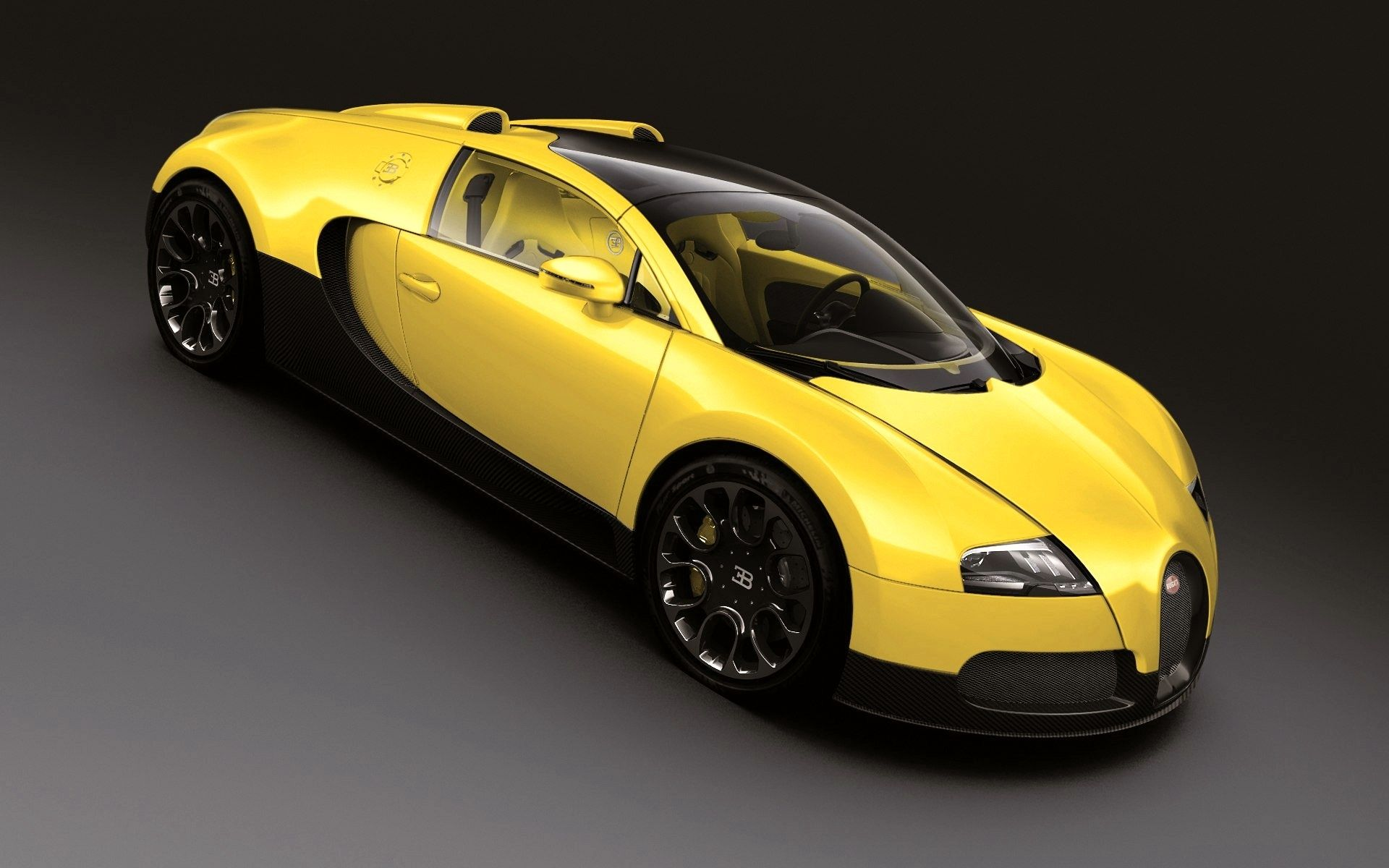 22300615 2012 Bugatti Veyron Grand Sport Middle East Edition Yellow And  Blue Varieties, Each Worth About Million USD