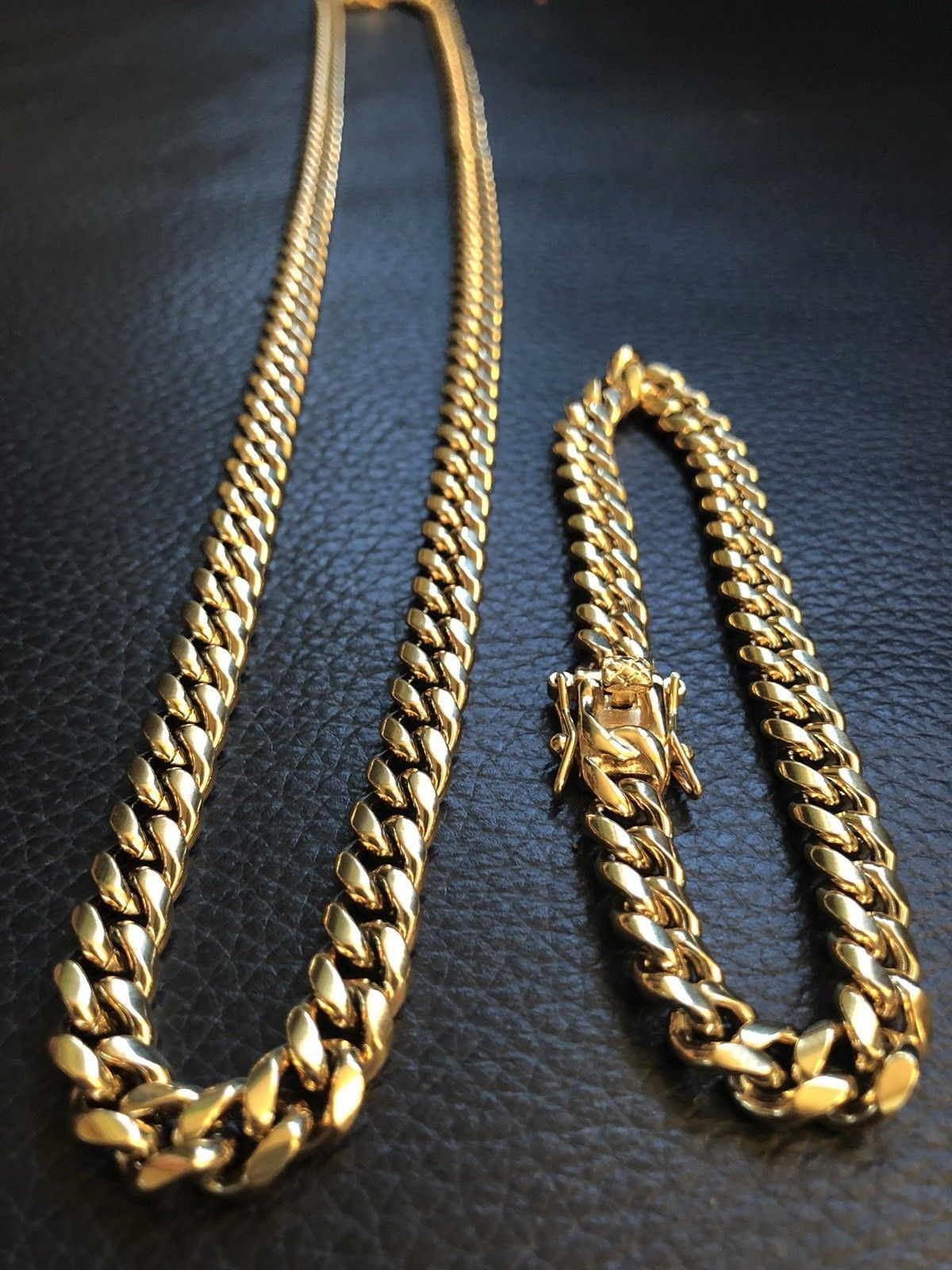 Fashion Jewelry 2mm Wholesale 18K Yellow Gold Plated Stainless Steel Round Box Chain 18''-30''