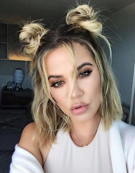 45 Ideas Wedding Hairstyles Half Up Half Down Short Hair Messy Buns For 2019 In 2020 With Images Medium Hair Styles Messy Bun For Short Hair Short Hair Updo