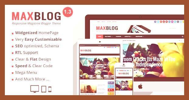 Blogger Blogging Free Blogging Templates Blogging Theme Bootstrap Creative Envato Fast And Clea In 2020 Magazine Blogger Template Blog Themes Blogger Templates