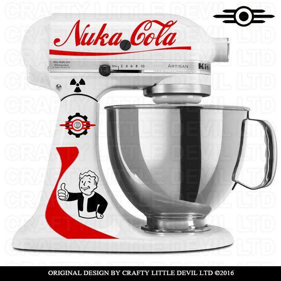 Nuka-Cola Mixer Decal by CraftyLittleDevilLTD on Etsy