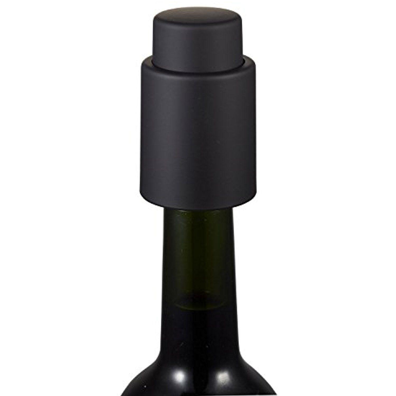 Visol Rubberized Wine Vacustopper, Hot Pink by Visol