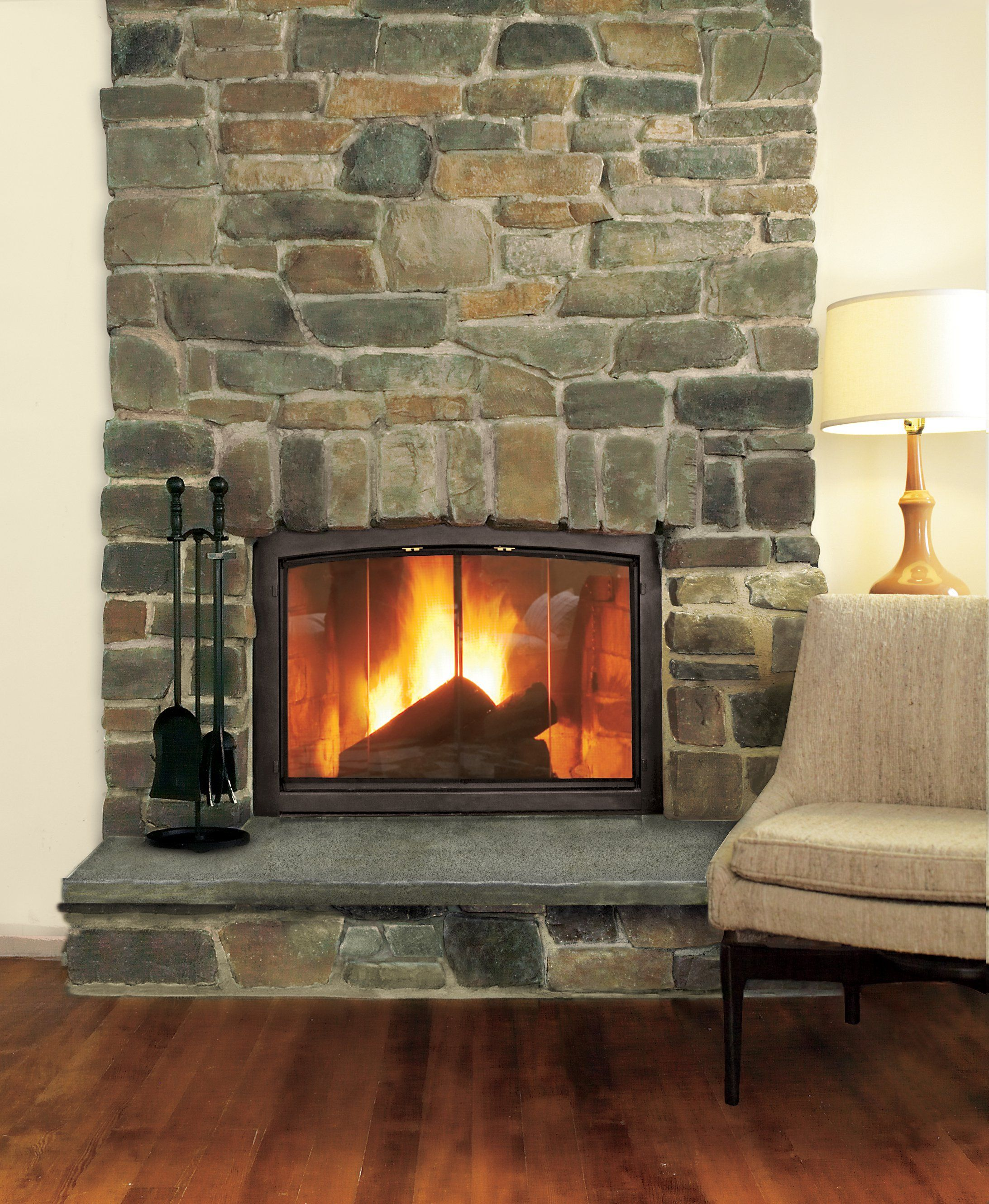 How To Build A Stone Veneer Fireplace Surround Stone Veneer Fireplace Stone Fireplace Surround Fireplace Surrounds