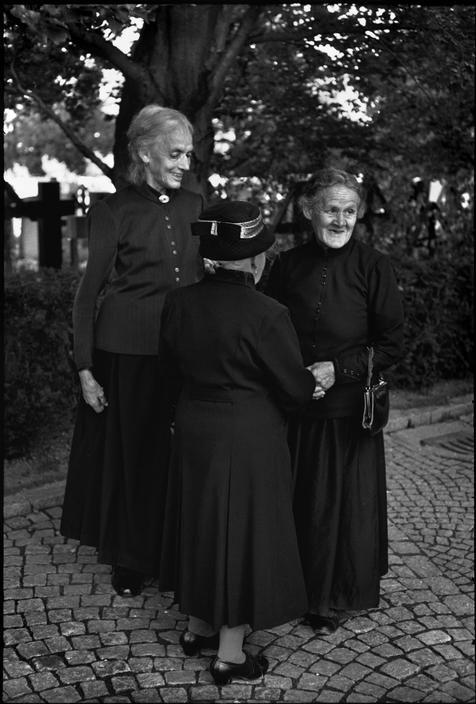 Henri Cartier-Bresson // Switzerland, 1966 - Appenzell