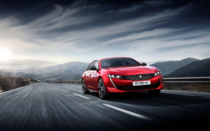 Download Wallpapers Peugeot 508 Gt Road 2018 Cars First Edition Peugeot 508 Motion Blur French Cars Peugeot Besthqwallpapers Com Peugeot 508 Peugeot Car Wallpapers