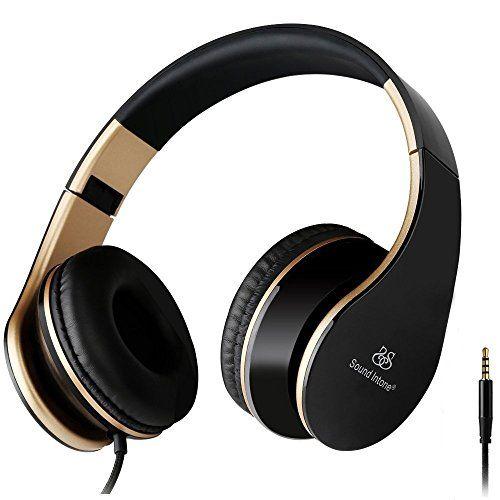 Sale Preis: Sound Intone I65 faltbarer Hifi Stereo Kopfhörer, on Ear, 3,5 mm Klinkestecker Headset, drehbare Ohrpolster, Noise Reduction Design, ergonomische Bauweise, Transportmanagement, mit integrierter Lautstärkeregelung und Mikrofon,Neues Modell 2015,für PC/ Smart Phone/ Iphone6/ Ipad/ Samsung/ Psp/ Ipod/ Mp3 Player/ Android (Schwarz/Gold). Gutscheine & Coole Geschenke für Frauen, Männer & Freunde. Kaufen auf http://coolegeschenkideen.de/sound-intone-i65-faltbarer-h