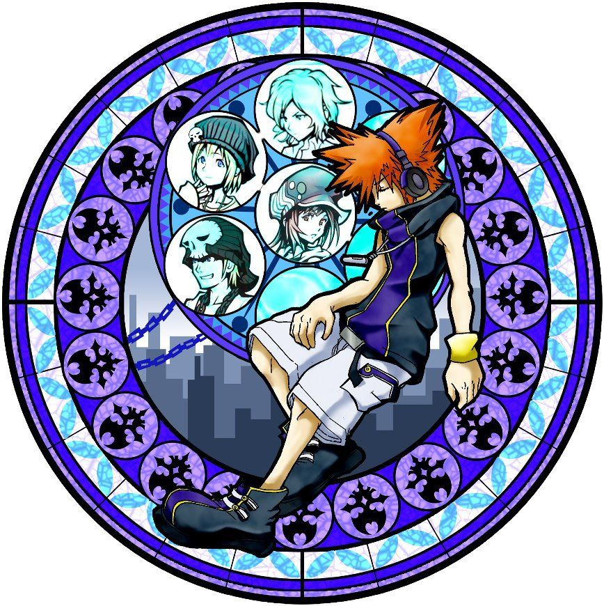 The World Ends With You kh stained glass | TWEWY | Pinterest ...