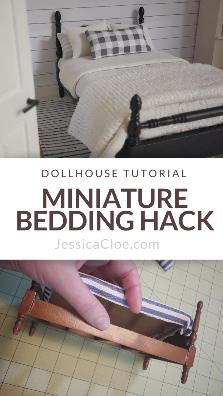 DIY Bedding Hack — Jessica Cloe Miniatures