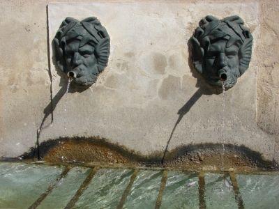 Fontaines Provençales des villages - Ansouis -