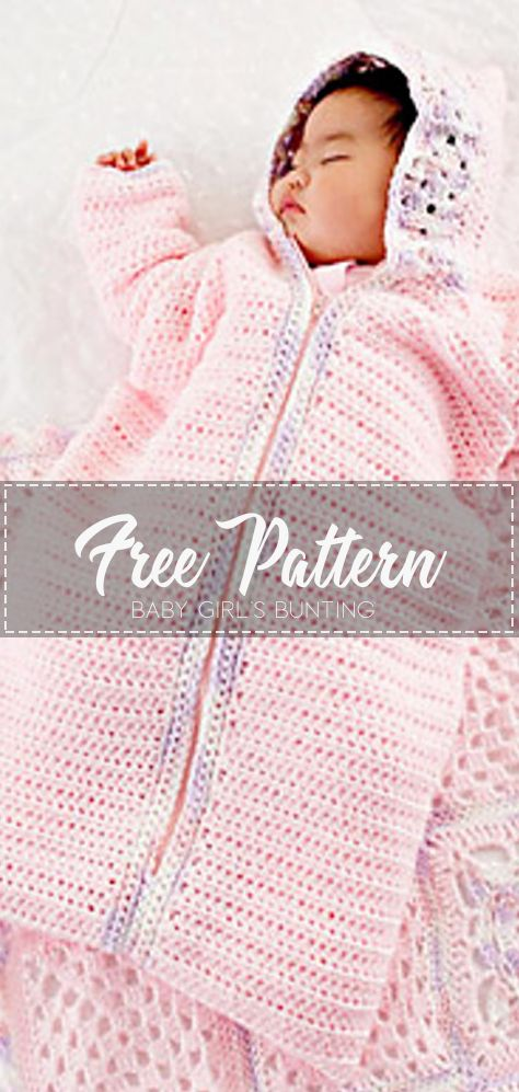 Photo of Baby Girl's Bunting – Free Pattern