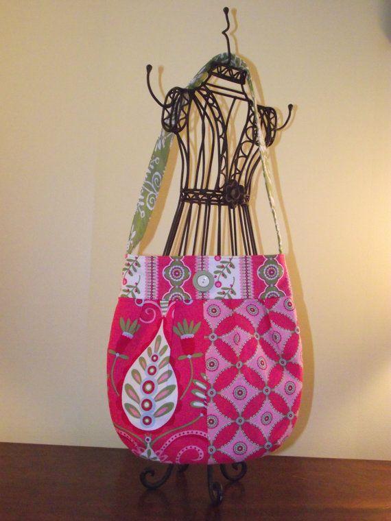 Girly girl bag made by Mom.
