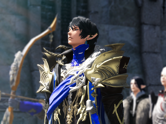 aymeric ffxiv  Google Search Final Fantasy Pinterest - Anime Male Hairstyles