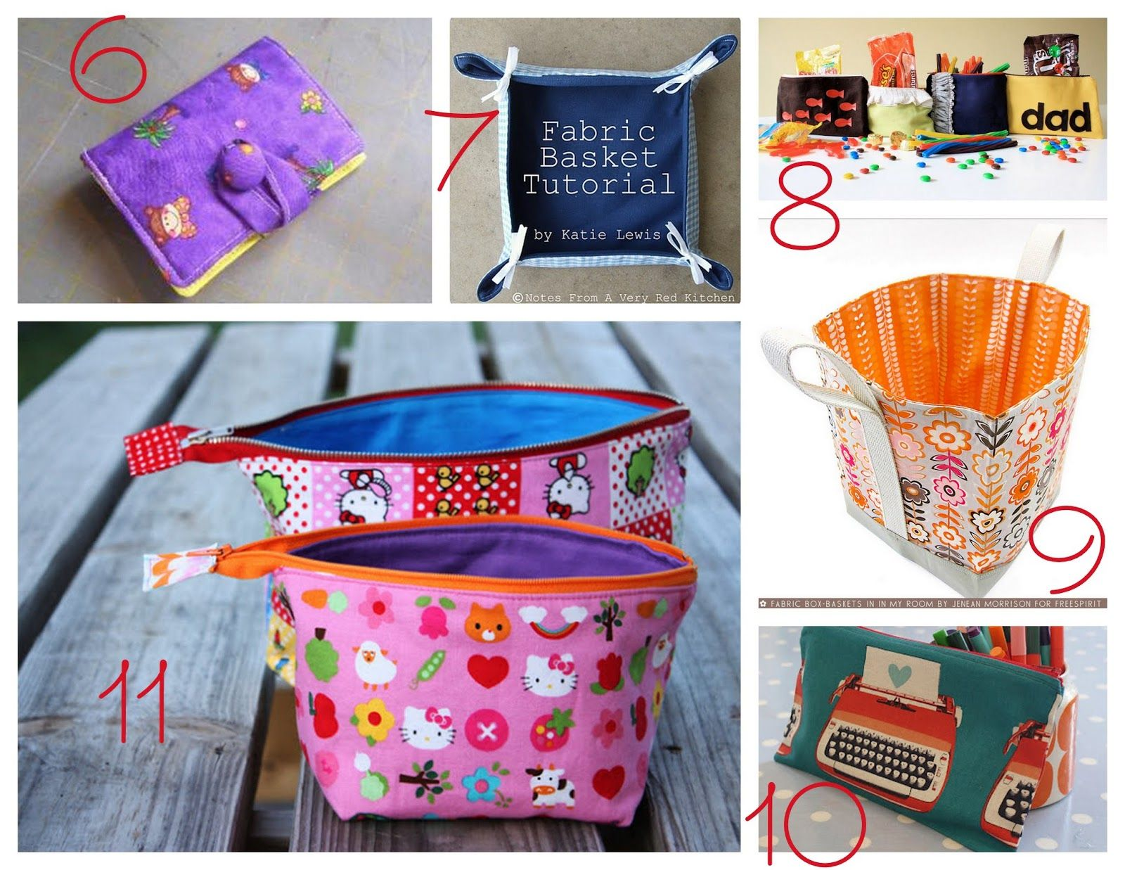 11 Teacher Appreciation Gifts To Sew! Great Teacher Day and ...