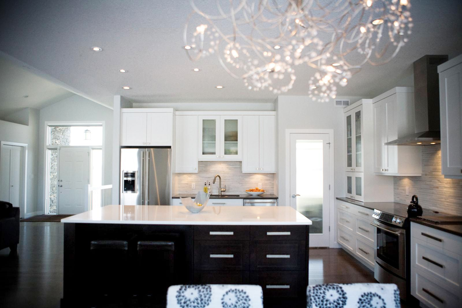 Kitchen Cabinets Regina Alair Homes Regina Kitchen This Bright White Open