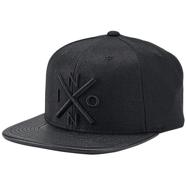 9792893fba9 Nixon Exchange Snapback Hat ( 30) ❤ liked on Polyvore featuring men s  fashion
