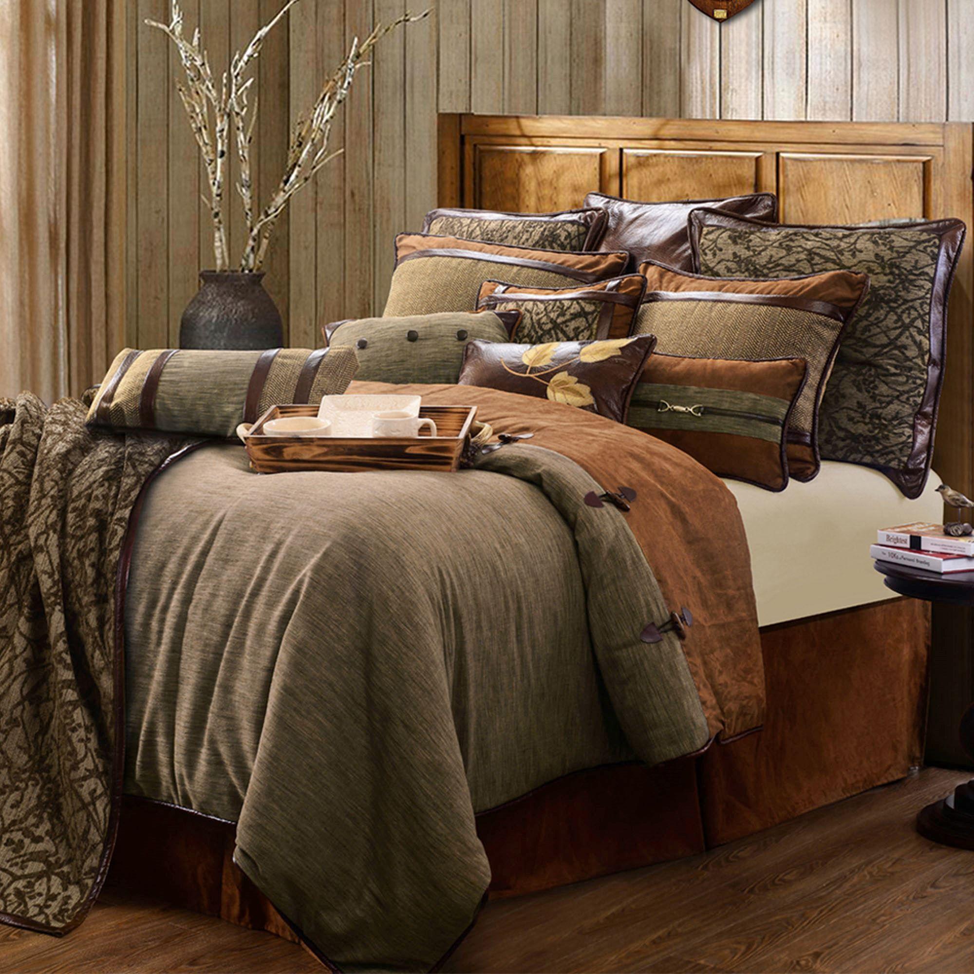 Highland Lodge 4-5 pc Comforter Bed Set