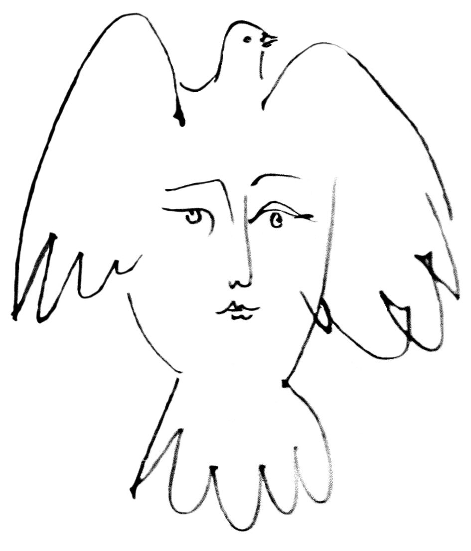 Line Drawing By Pablo Picasso : Picasso line drawings of people pixshark