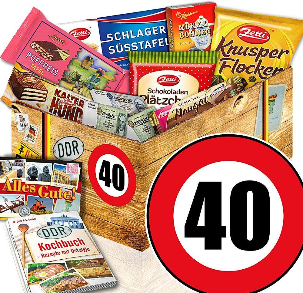 Geschenk 40 Geburtstag Ddr Schoko Geschenkbox 40 Geburtstag