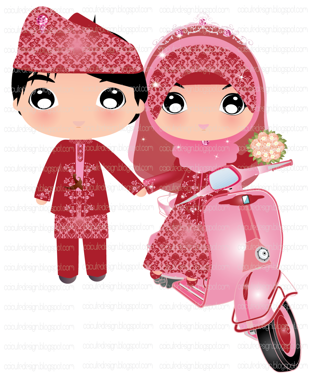 Pernikahan Islami Kartun : pernikahan, islami, kartun, Gambar, Rtoon, Kartun, Muslimah, Kahwin, Rebanas, Kartun,, Pengantin