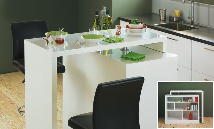 Bar table chock tables et chaises salon et salle - Table a manger alinea ...