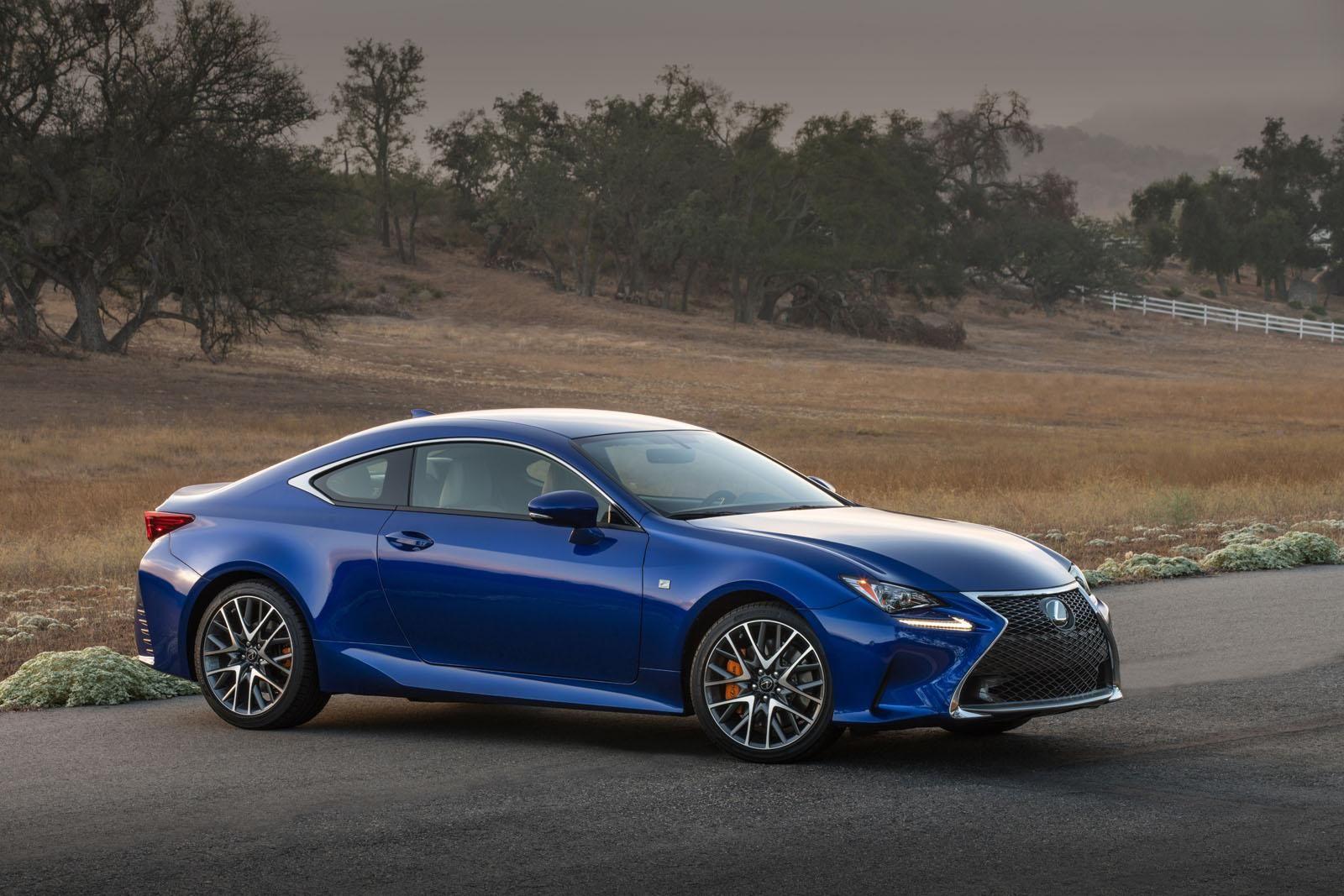 USA 2016 Lexus RC announced, gains new engine Compare