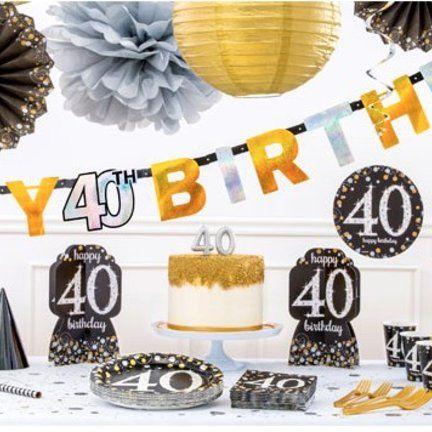 Verjaardagstaart 40 Jaar