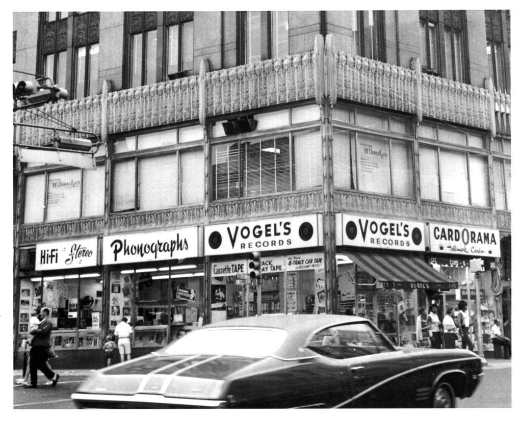 Vogel's Record Store in Elizabeth NJ Photo Courtesy of