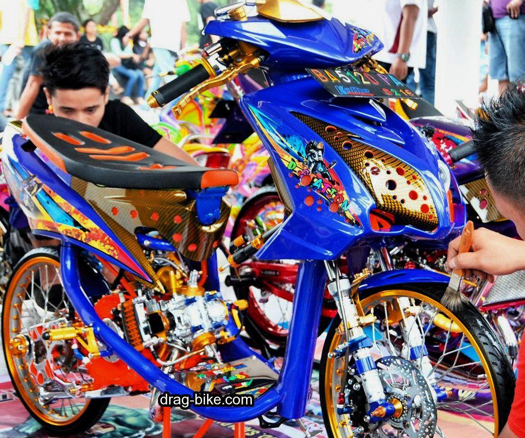 Variasi Motor Mio Soul Modifikasi Kontes Drag Racing