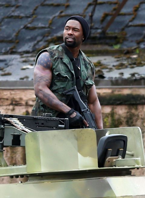 Trevante Rhodes in The Predator (2018)