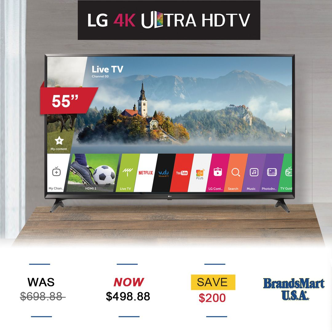 3-Day Sale \u2014 TV Deal \u2022 LG 55\