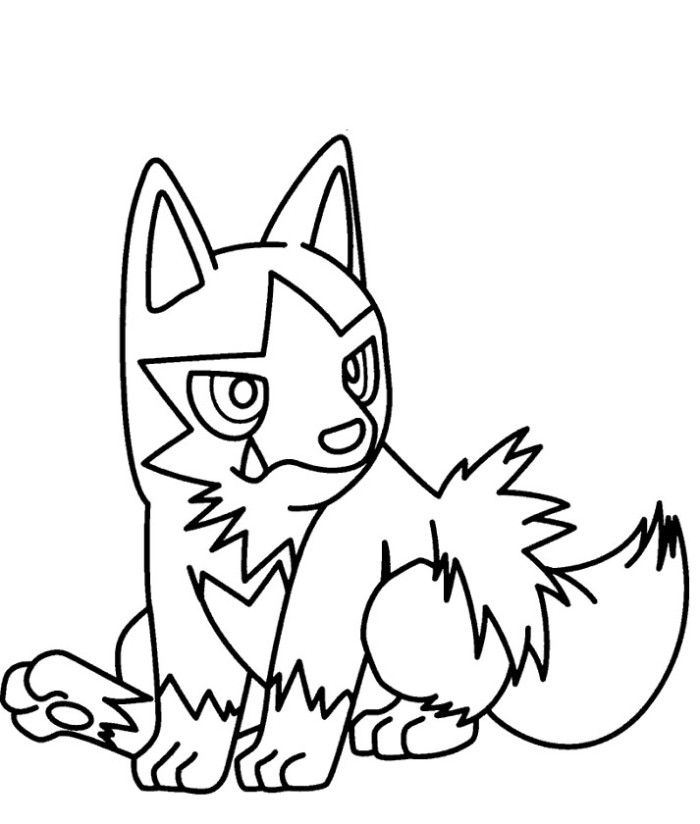 Poochyena Pokemon Coloring Pages Pokemon Coloring Pages