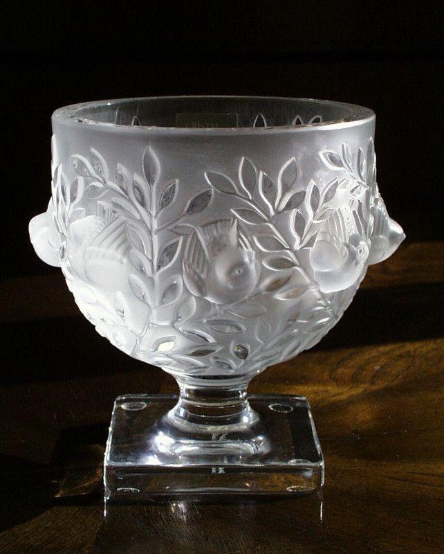 Lalique Vase Lalique Not Jewelry Pinterest Glass Art