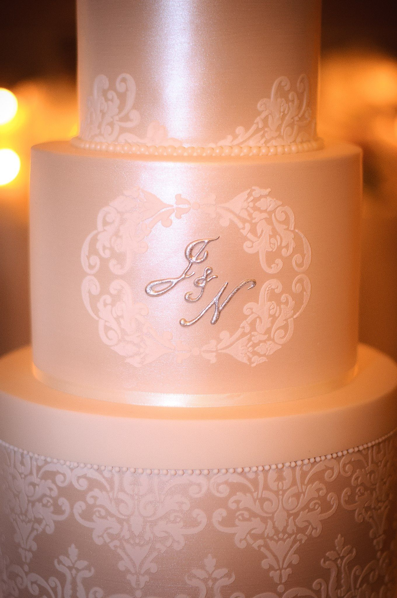 stencils for wedding cakes cahill wedding cake monogram lace stencil our 7702