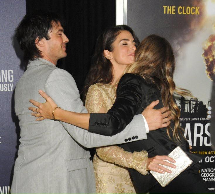 Ian Somerhalder and Nikki Reed at premiere of documentary Years Of Living Dangerously @YEARSofLIVING in New York. - September 21, 2016