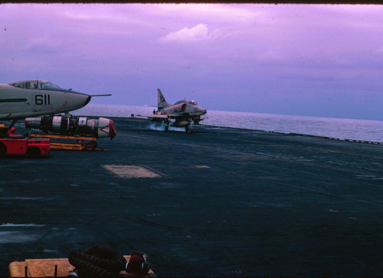 A-4 1969 Vietnam Cruise U S S  HANCOCK CVA-19 with VA-212