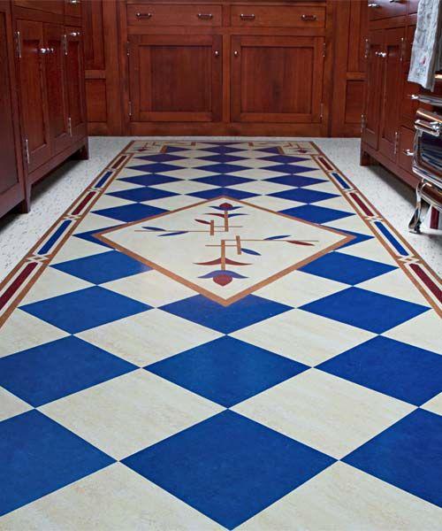 American Artisans Whose Work Will Floor You Flooring Vct Flooring Floor Design