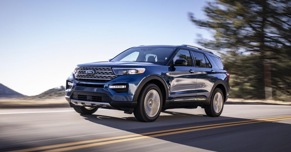 2020 Ford Explorer Goes Rear Wheel Drive Gains Serious Tech Ford Explorer 2020 Ford Explorer New Ford Explorer