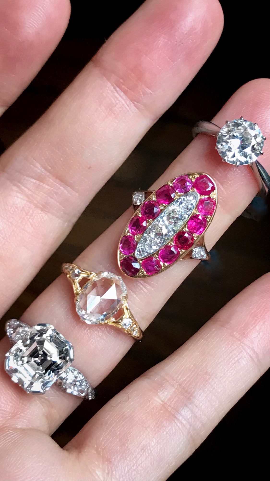 Shop vintage rings from the Victorian, Edwardian, and Art Deco eras ...