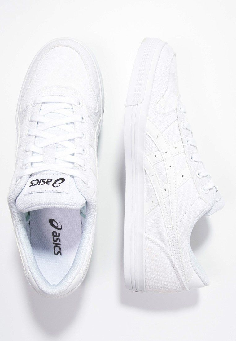 sports shoes f812f 1f160 ASICS AARON - Sneaker low - white - Zalando.de   all about ...