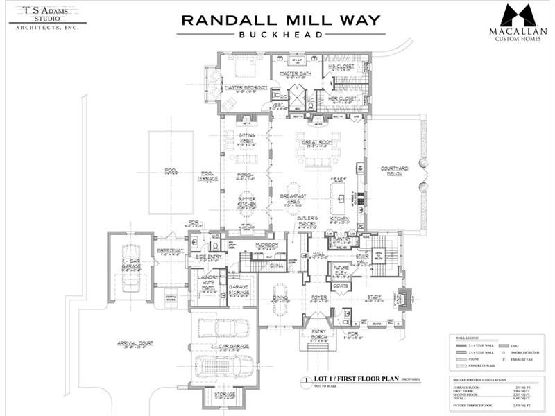 4035 1 Randall Mill Way Atlanta Dorsey Alston How To Plan House Floor Plans Custom Homes