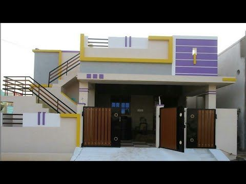Ground floor house for sale sq ft tamilnadu youtube building elevation also single designing photos home designs rh pinterest