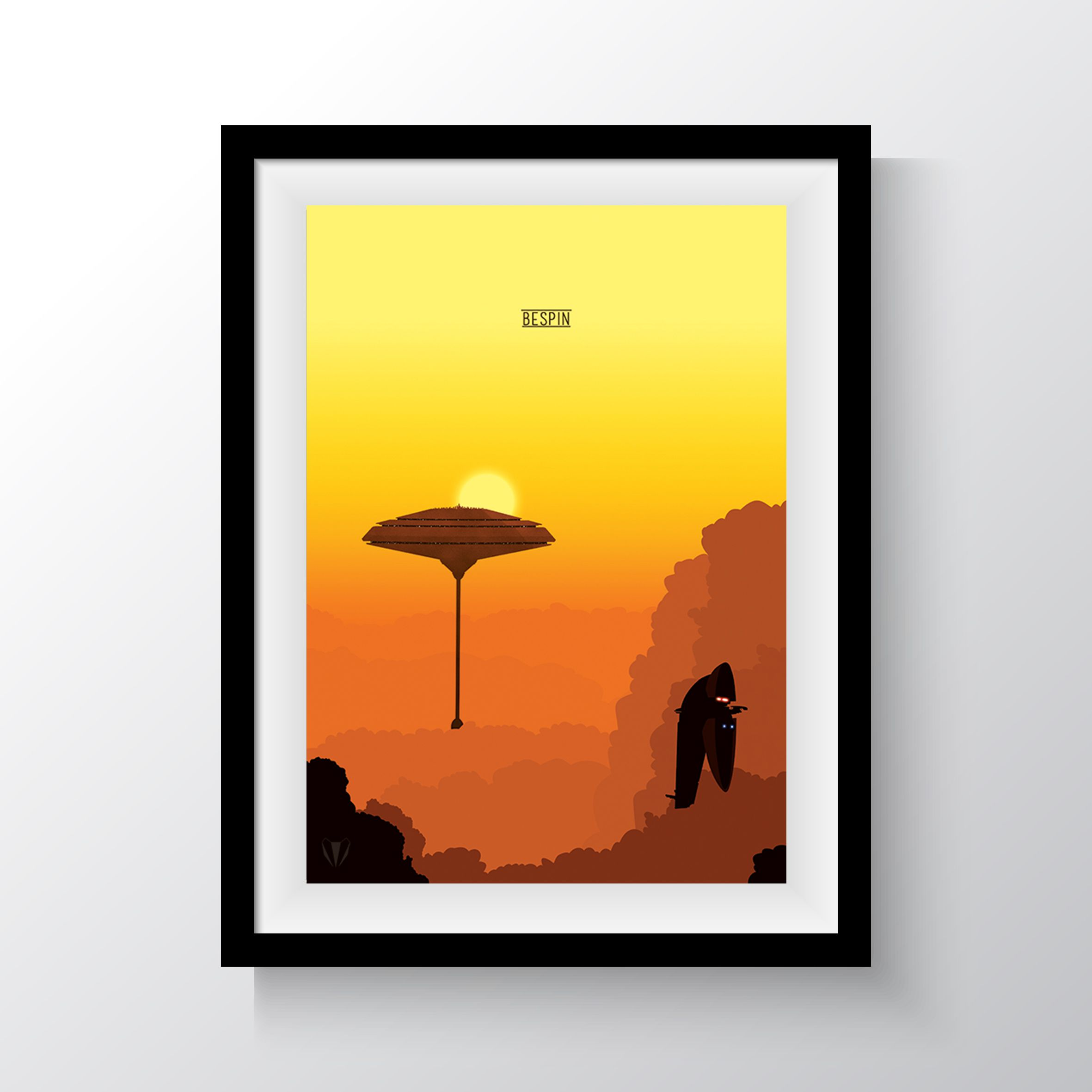 bespin star wars print in frame prints pinterest