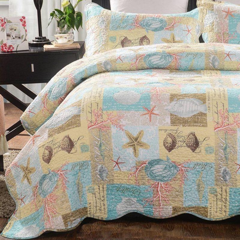 100 Best Seashell Bedding And Comforter Sets 2020 Coastal
