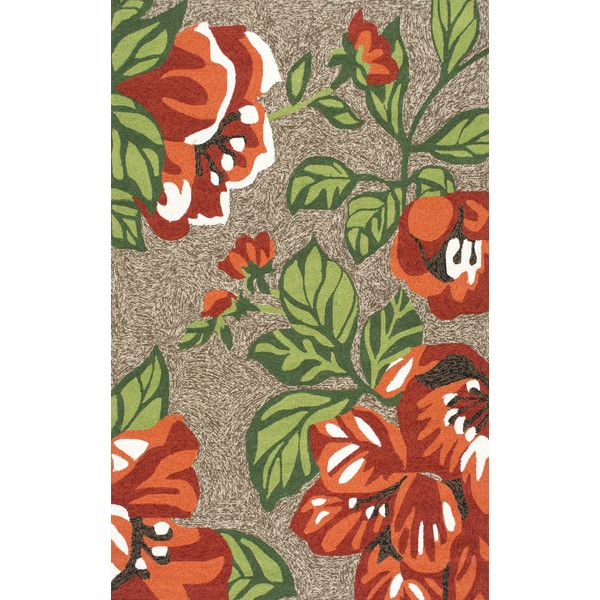 Hand Hooked Michaels Rug in Terracotta design by NuLoom