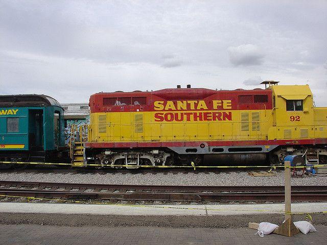 #SantaFe Railroad Cars Santa Fe New Mexico    Come to Santa Fe NM  goto  Santa Fe Hotels     http://merchandising.expediaaffiliate.com/campaign/page/?campaignId=60435