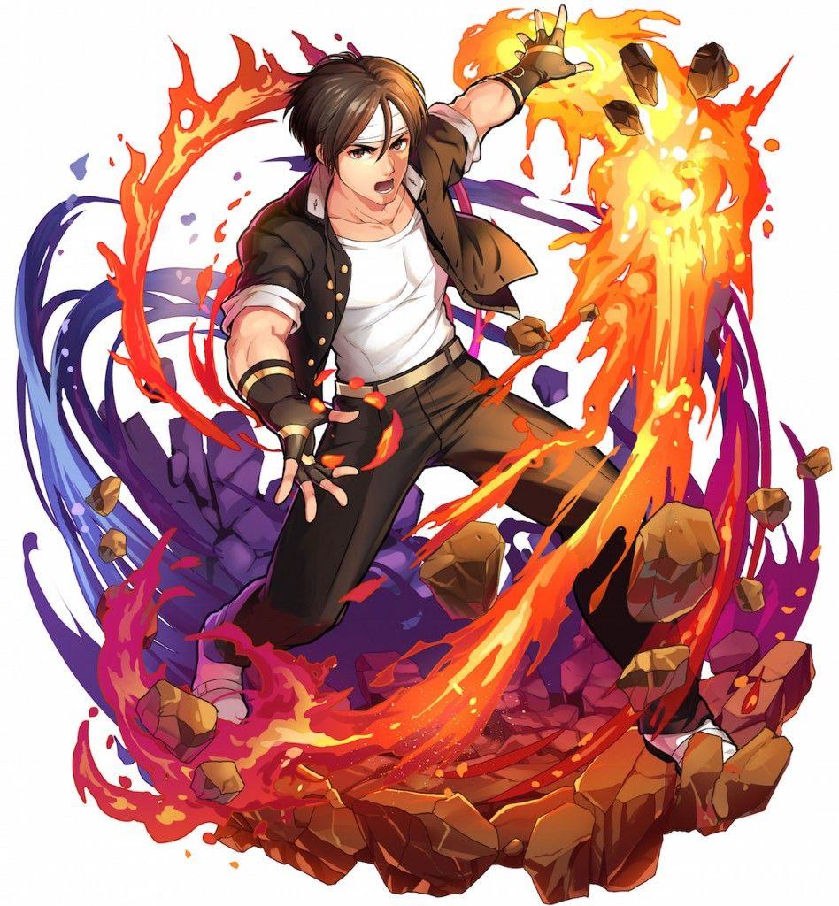 Kyo Kusanagi Boku And Dragons X Kof98 Artwork Jpg 948 1 024 Pixels Kof Personajes De Street Fighter Snk King Of Fighters